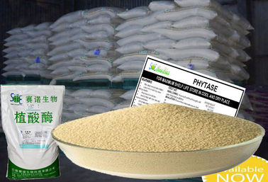 China 10000u/g Yellowish Phytase Animal Feed Coated Granule Form Szym-PHY10C supplier