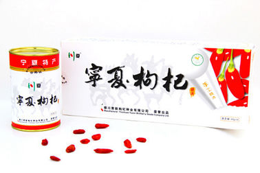 China Thick Red Goji Berry Wolfberry / Fructus Lycii Goji Berries Dried SDG-R220 supplier