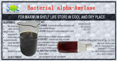 China Industrial Grade Bacterial Alpha Amylase Enzyme Liquid for Textile Szym-BAA4LT supplier