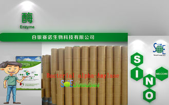 China Food Grade Snuff Bacterial Alpha Amylase Powder 10,000u/g Szym-BAA10FO supplier