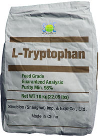 China 98% Pure L Tryptophan Powder Nutritional Livestock Feed Additives SAA-TRYL98 supplier