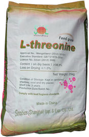 China White Animal Nutrition L Threonine 98.5 Feed Grade Amino Acids No.SAA-THRL98 supplier
