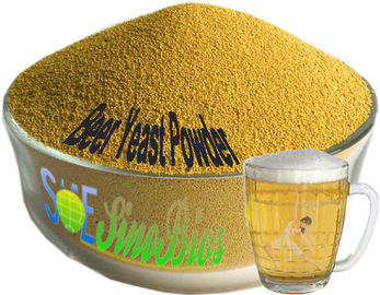 China SYE-BE40 Brown Beer Yeast Powder , 40% Crude Protein Yeast Animal Feed supplier