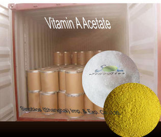 China Nutritional Feed Additives Yellow Crystal Acetate Vitamin A 1000000IUG SV-AA1000K CAS 127-47-9 supplier