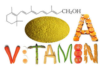 China Vitamin A Acetate Powder 500,000IUG Veterinary Grade additives CAS 127-47-9 SV-AA500K supplier