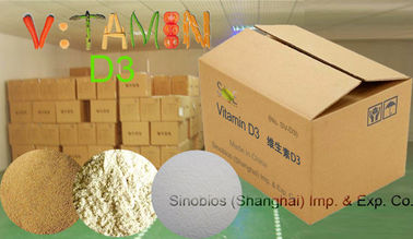 China Powdered Vitamin D 3 Assay 99% 500,000iu / g Feed Grade Vitamins SV-D3-P99-500K CAS 511-28-4 supplier