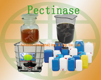 China Concentrated Pectinase Liquid Food Grade Enzyme 30000u/mL Szym-PEC30LFO supplier