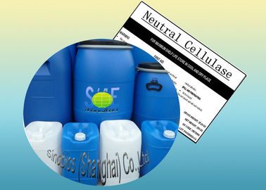 China Industrial Neutral Cellulase Enzyme Liquid 80,000u/mL for Textile Szym-NCE80LT supplier
