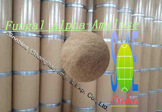 China Baking Pale Brown Alpha Amylase Enzyme Safe Food Additives No. SINOzym-FAA100BA supplier